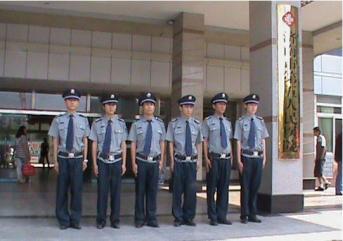 淄博保安浅析门卫执勤的基本要求