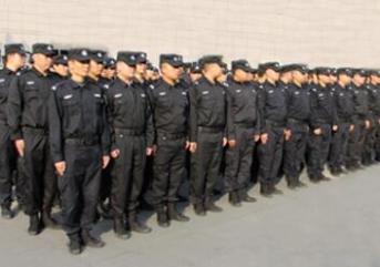 淄博保安公司开展了保安岗位大练兵